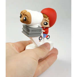 SD Toys E.T. the Extra-Terrestrial: Elliott and E.T. on Bike Pokis Figure