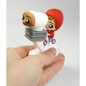 SD Toys E.T. the Extra-Terrestrial: Elliott and E.T. on Bike Pokis Figure