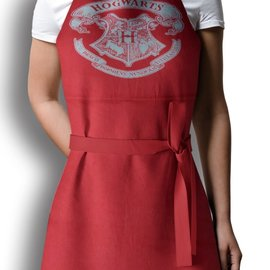 SD Toys Harry Potter: Hogwarts Logo Apron and Oven Glove in Plastic