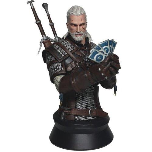 Dark Horse The Witcher 3: Wild Hunt - Geralt Playing Gwent Bust