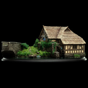 WETA Workshops The Hobbit : Hobbiton  Mill And Bridge