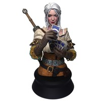 The Witcher 3: Wild Hunt - Ciri Playing Gwent Bust