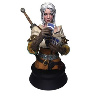 Dark Horse The Witcher 3: Wild Hunt - Ciri Playing Gwent Bust