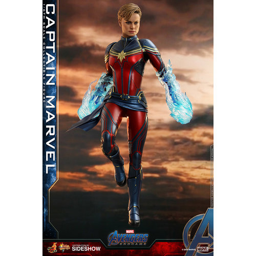 Sideshow Marvel: Avengers Endgame - Captain Marvel 1:6 Scale Figure