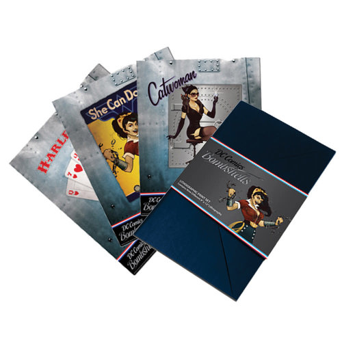 Factory Entertainment DC Comics: Bombshells - Lithographic Print Set