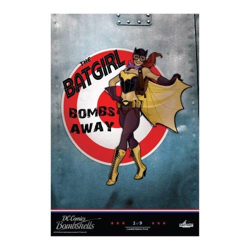 Factory Entertainment DC Comics: Bombshells - Lithographic Print Set