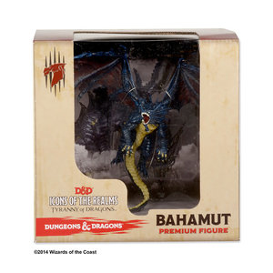 wizkids Dungeons and Dragons: Icons of the Realms - Bahamut Premium Figure