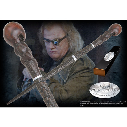 The Noble Collection Harry Potter Wand Alastor Mad-Eye Moody (Character-Edition)