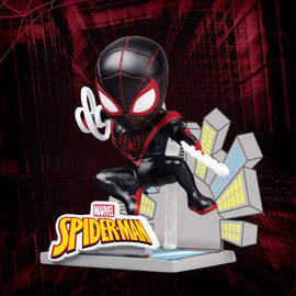 Beast Kingdom Marvel: Mini Egg Attack - Miles Morales Spider-Man Action