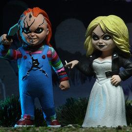 NECA Bride of Chucky: Toony Terrors - Chucky and Tiffany 2-Pack