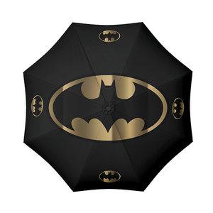 Hole In The Wall Batman Bat and Gold Umbrella