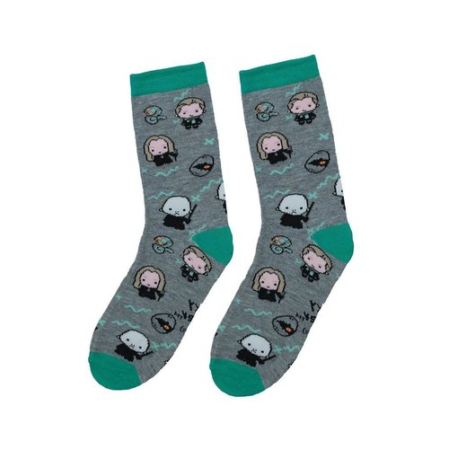 fame bros Harry Potter: Magic Socks -  (Grey/Green)