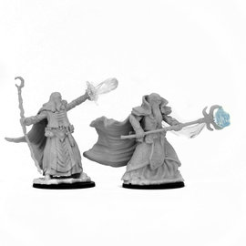 wizkids Dungeons and Dragons: Nolzurs Marvelous Miniatures - Human Male Wizard