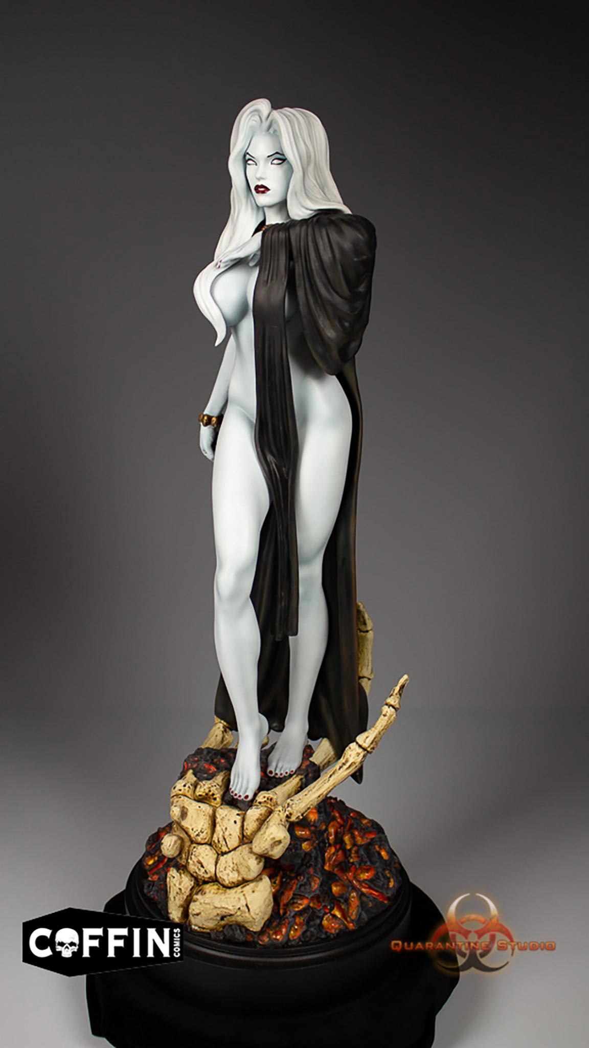Quarantine Studios Lady Death: Seductress Lady Death 1:6 Scale Statue