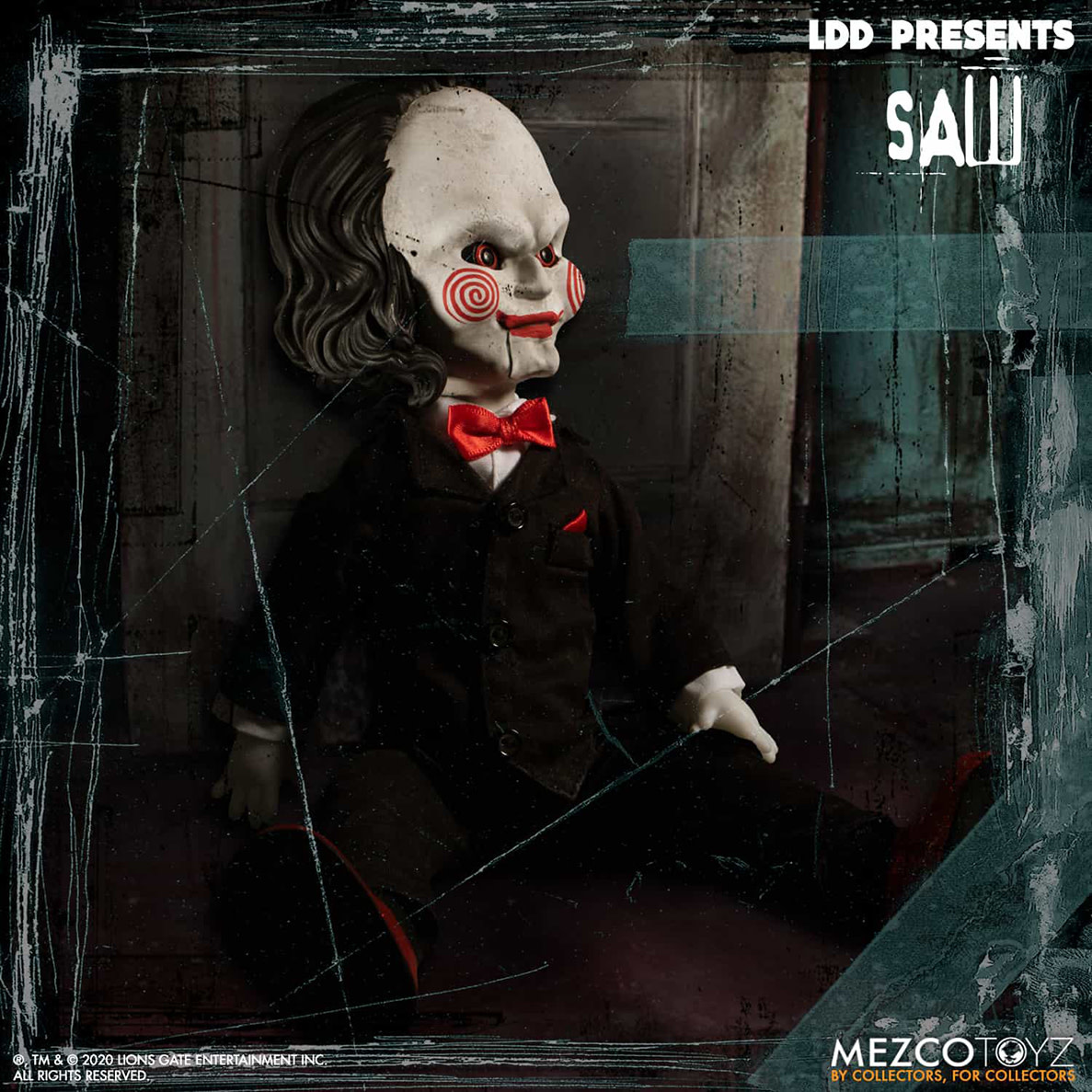 Mezcotoys Living Dead Dolls: Saw - Billy
