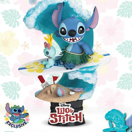 Beast Kingdom Disney: Stitch Surf PVC Diorama Special Edition