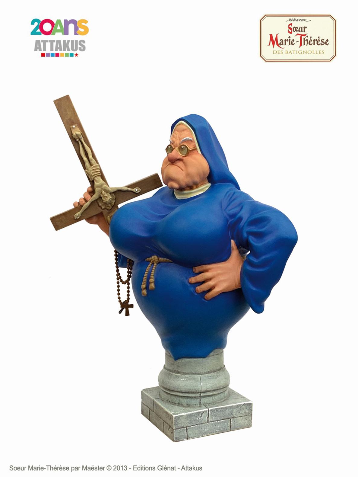 Attakus Sister Marie-Therese des Batignolles Statue