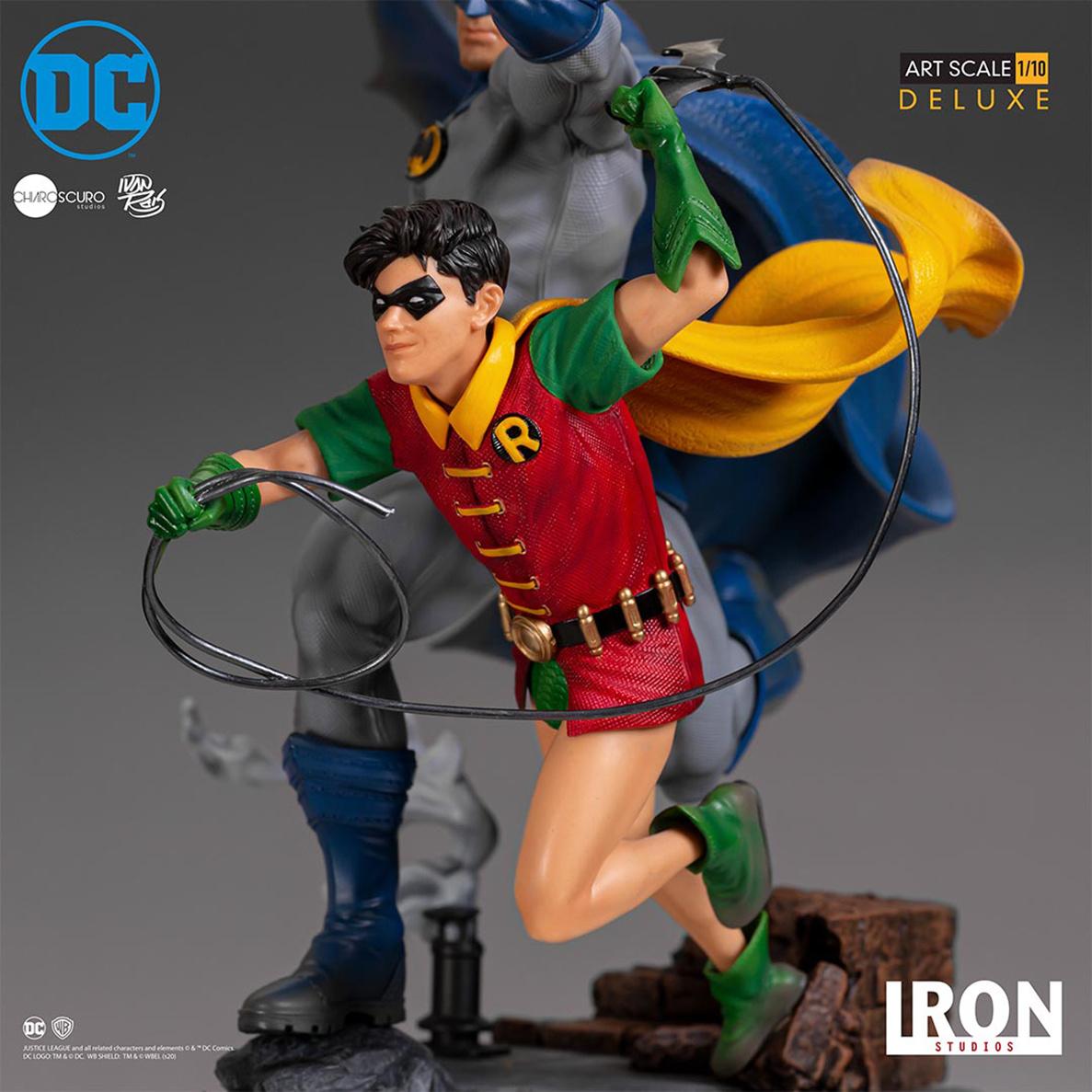 Iron Studios DC Comics: Batman and Robin 1:10 Scale Statue by Ivan Reis