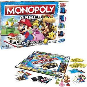 HASBRO Gaming Monopoly Gamer: Super Mario