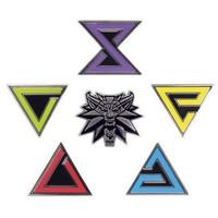 The Witcher 3: Wild Hunt - Enamel Pin Set