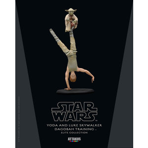 Attakus Star Wars: Yoda and Luke Skywalker Dagobah Training 26 cm Statue