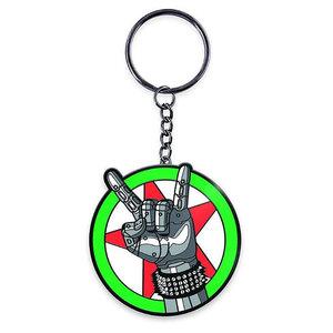 Dark Horse Cyberpunk 2077: Silverhand Keychain