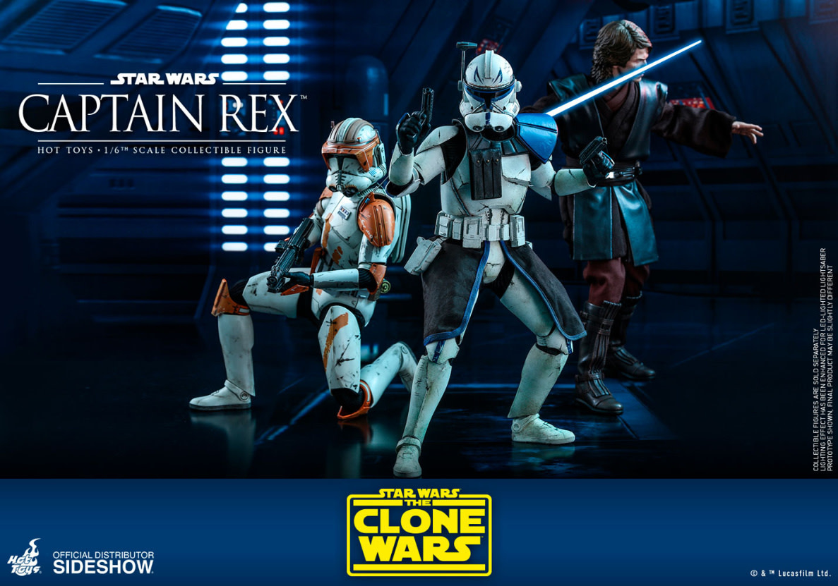 Hottoys Star Wars: The Clone Wars - Captain Rex 1:6 Scale Figure
