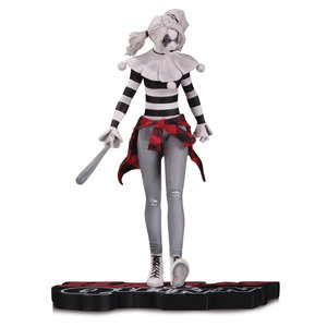 Diamond Direct DC Comics: Harley Quinn Red White and Black Statue by Steve Pugh