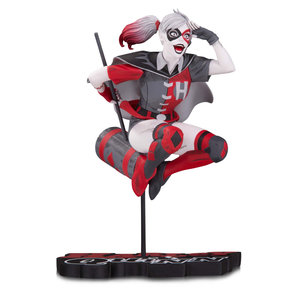 Diamond Direct DC Comics: Harley Quinn Red White and Black Statue by Guillem March