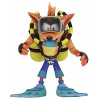 Crash Bandicoot: Deluxe Crash Bandicoot with Scuba Gear 7 inch