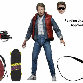 NECA Back to the Future: Ultimate Marty 7 inch Action Figure