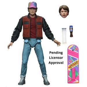 NECA Back to the Future 2: Ultimate Marty 7 inch Action Figure