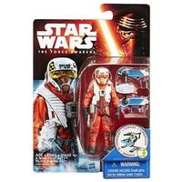 Star Wars Episode 7 Snow en Desert X-wing pilot Asty Figuur