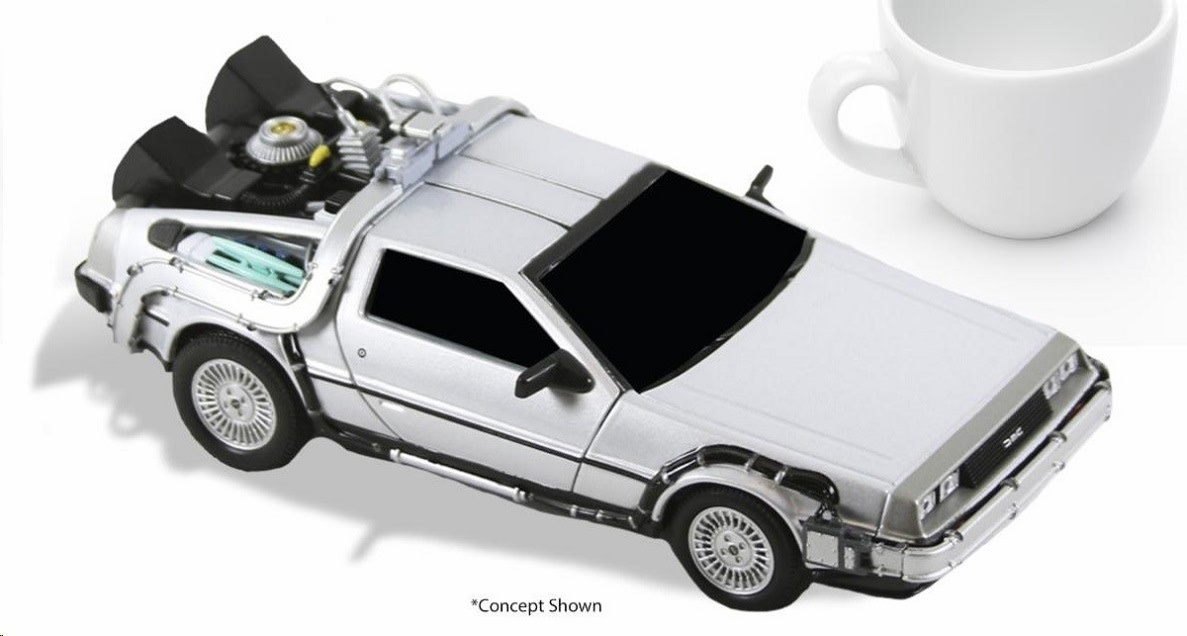 NECA Back to the Future: Time Machine 6 inch Vehicle Replica