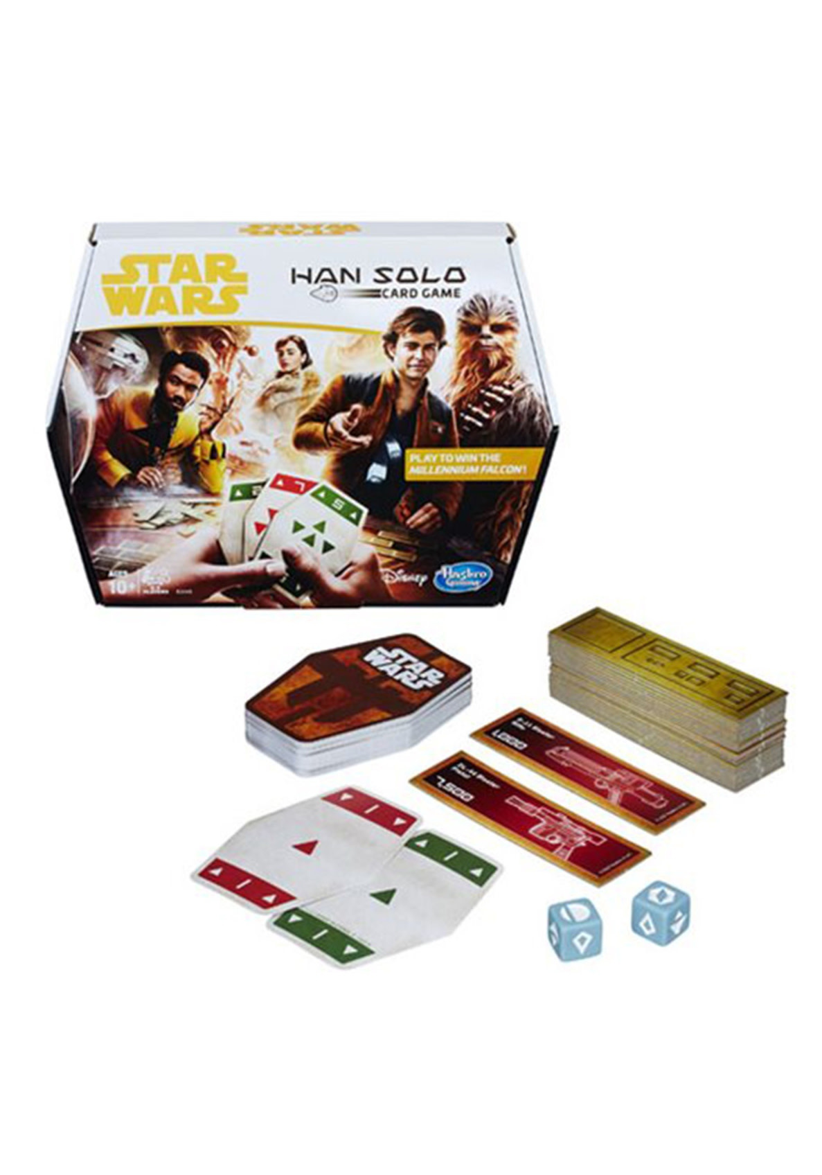 HASBRO Star Wars: Han Solo Card Game (Sabacc)