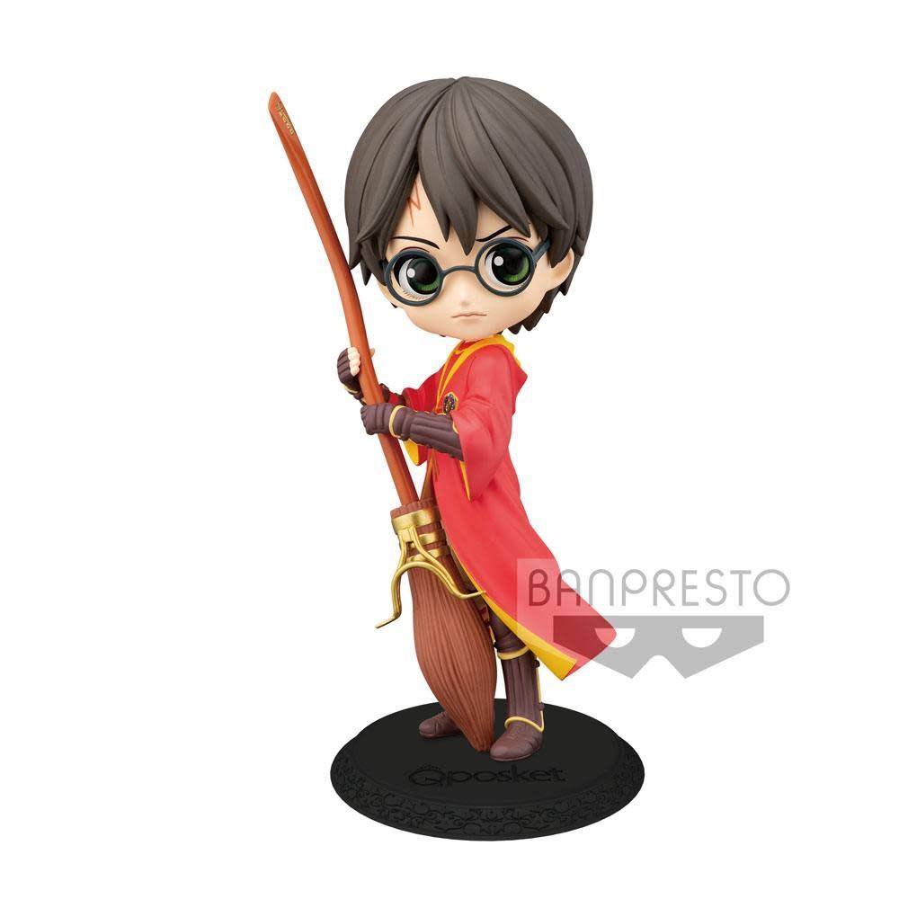 Banpresto Harry Potter Q Posket Harry Potter Quidditch Style Ver.A Figure 14cm