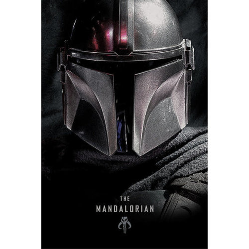 Hole In The Wall Star Wars The Mandalorian Dark Maxi Poster