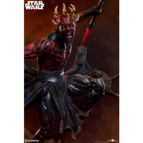 Sideshow Toys Star Wars: Mythos Darth Maul Statue