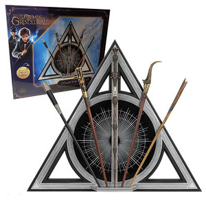 The Noble Collection Harry Potter: Fantastic Beasts 2 - Collector Wand Set