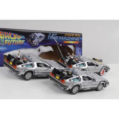 Back to the future: Delorean giftbox  1:24 scale