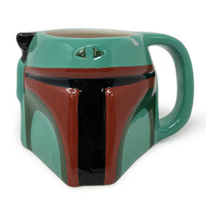 Hole In The Wall Star Wars Boba Fett 3D Shaped Mug