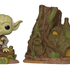 FUNKO Pop! Town: Star Wars The Empire Strikes Back - Yoda's Hut