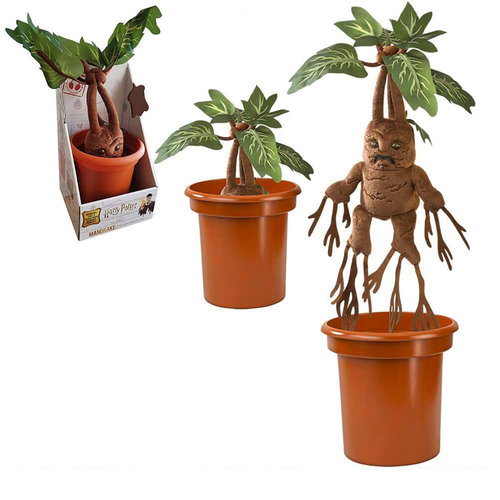 The Noble Collection Harry Potter: Electronic Plush Mandrake