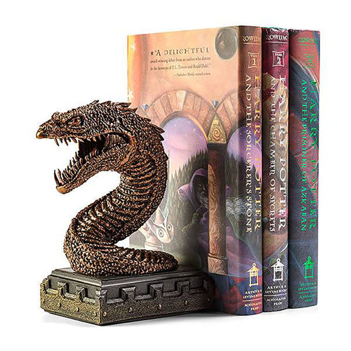 The Noble Collection Harry Potter: The Basilisk Bookend