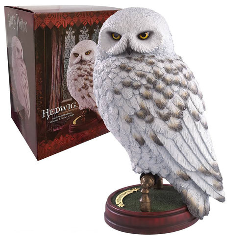 The Noble Collection Harry Potter: Hedwig 9.5 inch Resin Sculpture