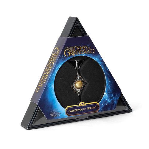 The Noble Collection Harry Potter: Fantastic Beasts 2 - Gellert Grindelwald Pendant
