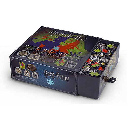 The Noble Collection Harry Potter: Diagon Alley Shop Signs Puzzle