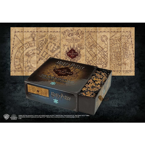 The Noble Collection Harry Potter: The Marauder's Map Cover Puzzle
