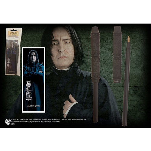 The Noble Collection Harry Potter: Snape Wand Pen and Bookmark