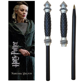 Harry Potter: Narcissa Wand Pen and Bookmark